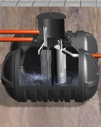 TWINBLOC zestaw oczyszczalni do 12-stu mieszkańców.